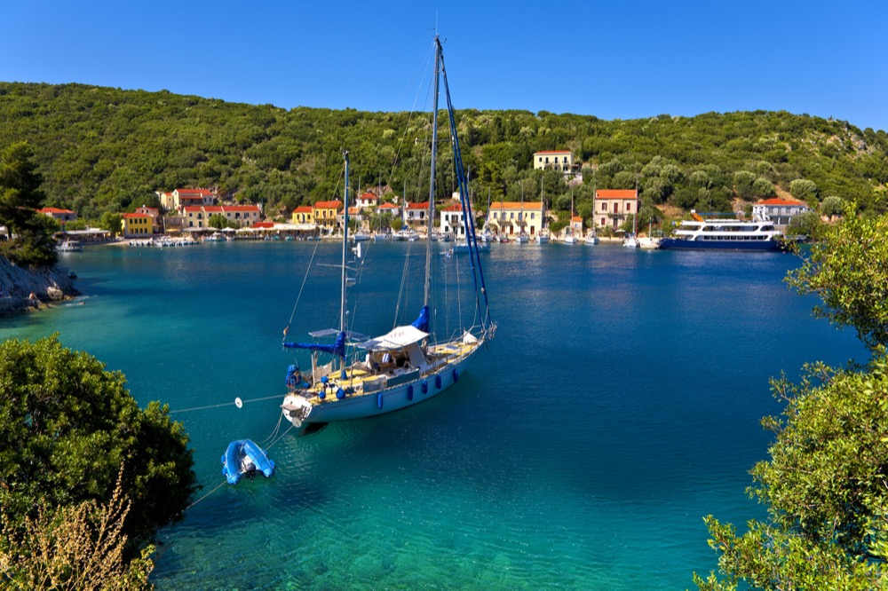 Sailing Greece Boats - the Ionian Islands sailing